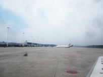 贵阳机场的飞机