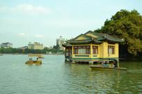 惠州西湖边的建筑