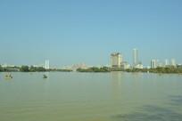 惠州西湖城市风光