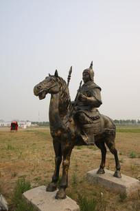 骑马古代士兵