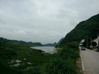 清镇红枫湖畔风光