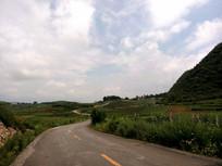 清镇乡村道路