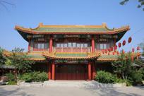 山东园博园中式风格楼房