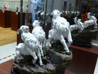 石雕三羊开泰