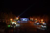 时光贵州滨湖广场夜景