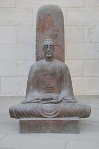 无字碑巨型雕像