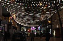 香港铜锣湾夜景