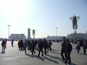 游览天安门广场