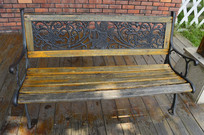 云台花园西式凳子