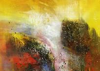 爆款抽象油画高清图