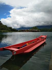 彩云之南的泸沽湖景色
