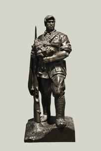 雕塑战斗英雄