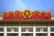 国博红旗雕塑