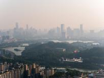 清晨的惠州城市