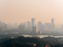 清晨的惠州城市风景