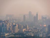 清晨的惠州建筑风光