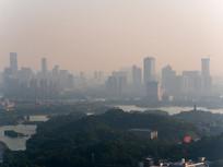 清晨的惠州市区