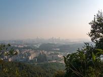 清晨的惠州市区风光