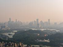 清晨的惠州市区景观