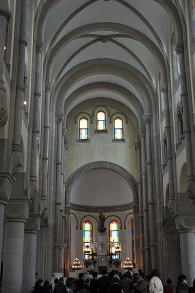 上海佘山天主教堂礼拜堂