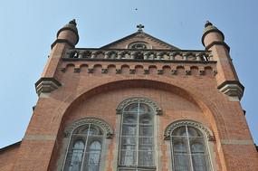 上海佘山天主教堂楼顶