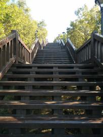 山上的楼梯