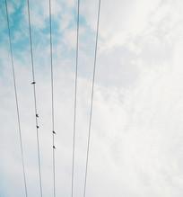 天空中的五线谱