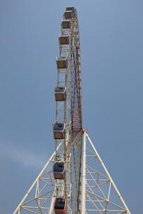 旋转摩天轮塔