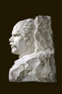 白求恩头像雕塑