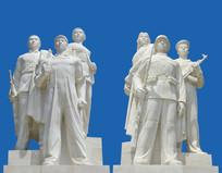 雕塑全民皆兵