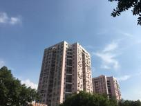 金湖雅苑粉红色住宅建筑