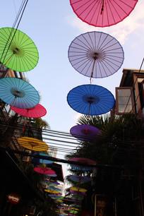 创意拍摄伞