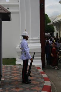 大皇宫大门的警卫