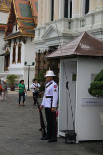大皇宫门前的守卫