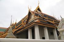 精美的泰国宫殿建筑
