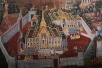 精美的泰国寺庙建筑