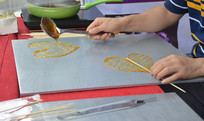 民间糖画手工艺