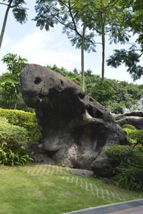 云台花园奇石