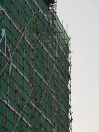 建筑工地一角