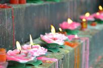 寺庙祈福蜡烛