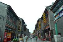 天津古玩街的风光
