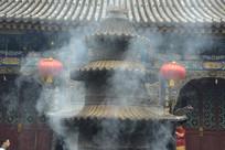 文殊菩萨殿的香炉