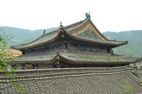 五台山寺庙建筑