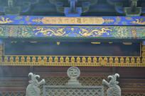 五台山寺庙一角