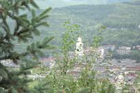 五台山塔院寺景观