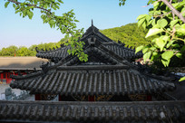 药王庙屋檐建筑
