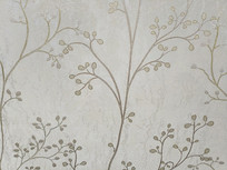 刺绣枝条花纹