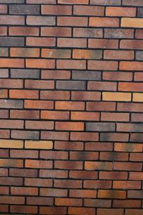 红砖墙背景图片