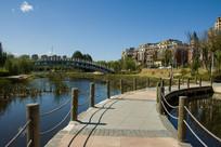 景观路河流桥梁