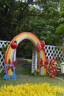 昆虫彩虹拱门灯组